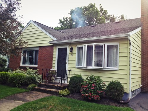 Paint brick siding for How to get paint off siding