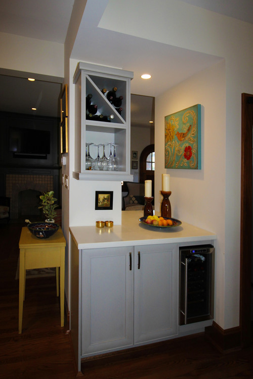 design small kitchen opening up a small and cluttered kitchen an amazing 3207