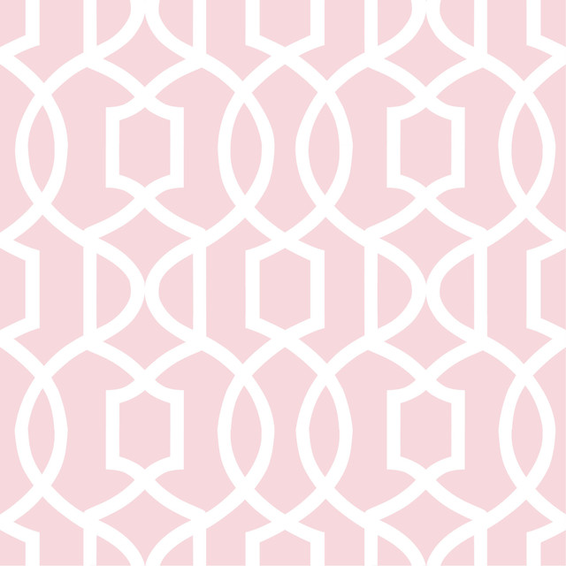 pink grand trellis peel and stick wallpaper