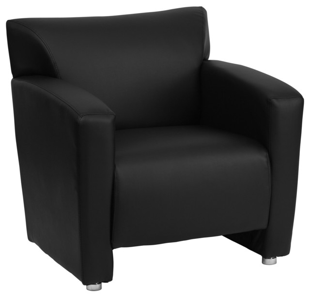 Flash Furniture Hercules Majesty Series Black Leather Chair Home Office Seating by Flash Furniture