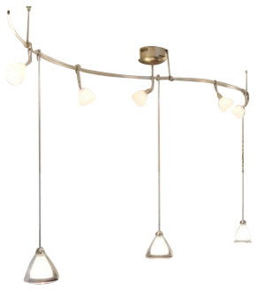 LBL Lighting Curved Monorail System Kit Pre-Configured traditional-pendant- lighting  sc 1 st  Houzz & LBL Lighting Curved Monorail System Kit Pre-Configured ... azcodes.com