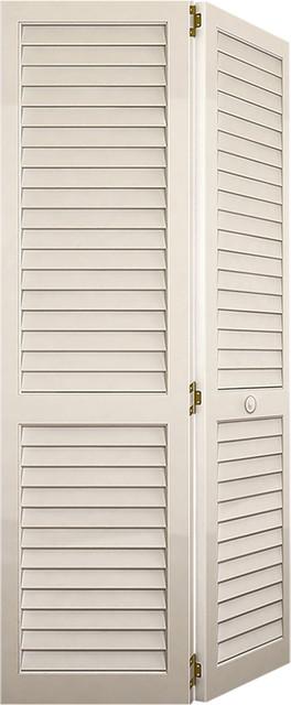 Bi-fold Closet Door Plantation Louver-Louver White contemporary-interior- doors  sc 1 st  Houzz & Bi-fold Closet Door Plantation Louver-Louver White - Contemporary ...