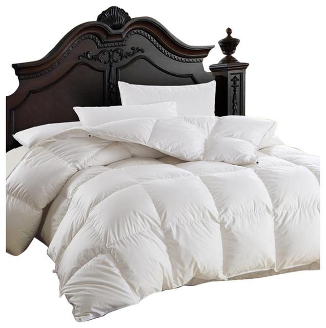 Luxurious Siberian Goose Down Comforter 600 Thread Count
