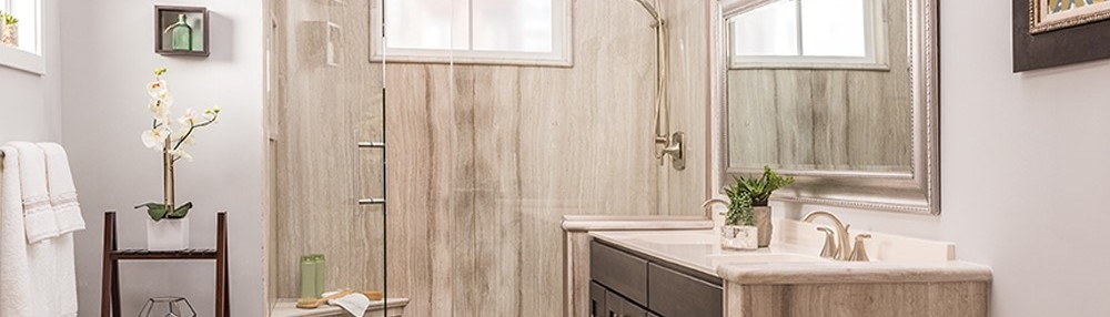 Wall surrounds wainscoting for Bathroom remodeling dothan al