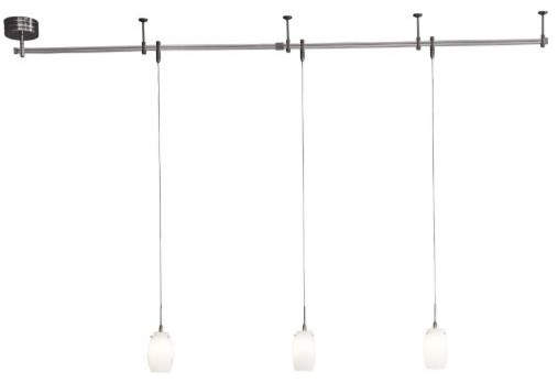 Mini Pendant Monorail Kit by George Kovacs  Contemporary  Track