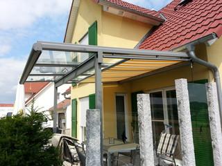 Terrassen Berdachung Mit Dach Berstand Vorne
