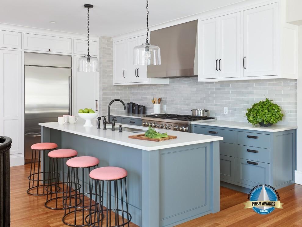 2018 PRISM AWARDSKristina Crestin Design Littles Point Kitchen