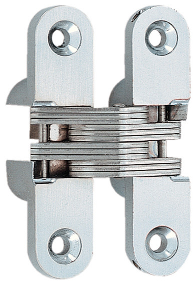 Sugatsune - Susgatsune Stainless Steel Concealed Mortise Hinge - View in Your Room! | Houzz