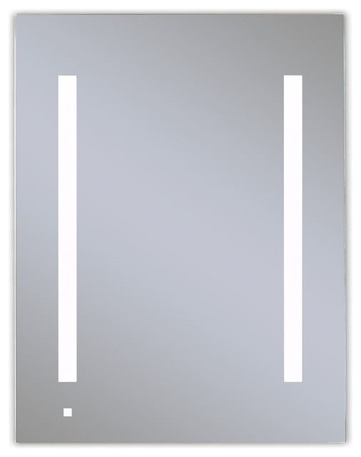Illuminated cabinets modern bathroom mirrors Recessed Aio Single Door Lighted Cabinet Modern Bathroom Mirrors By The Stock Market Houzz Aio Single Door Lighted Cabinet Modern Bathroom Mirrors By The