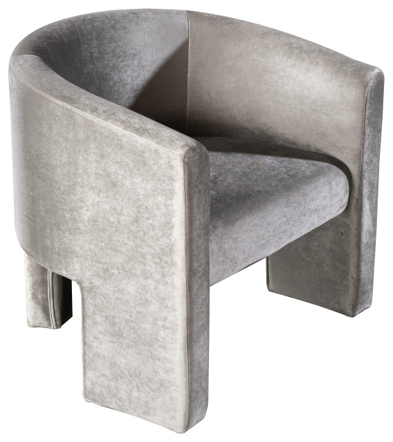 Leblon Barrel Chair Gray Transitional Armchairs And Accent Chairs By Statements By J
