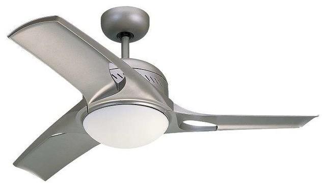 """Monte Carlo 3mtr38tmo-L, Mach Two 38"""" Ceiling Fan, Titanium."""