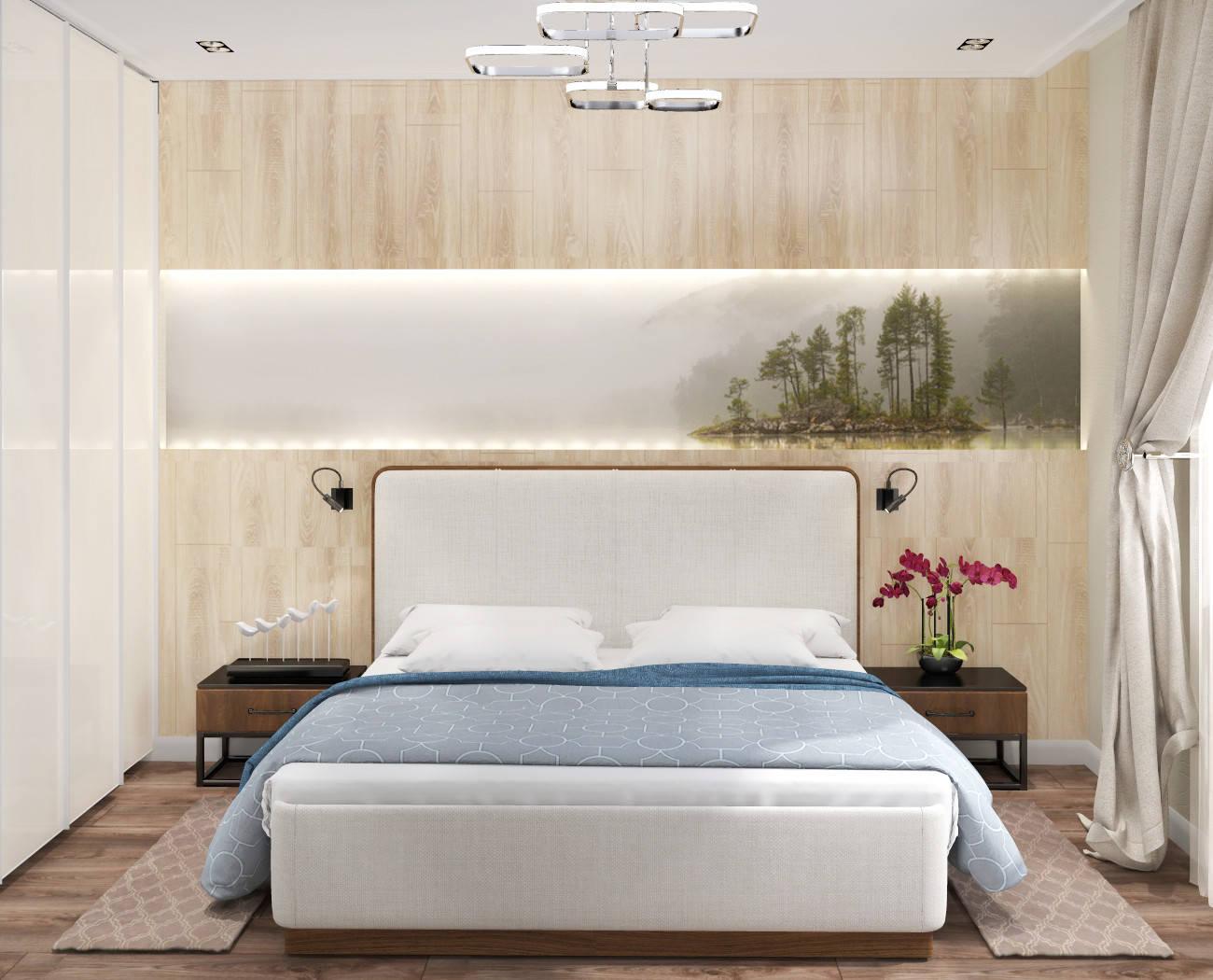 Спальня хозяйская (вариант разработки)