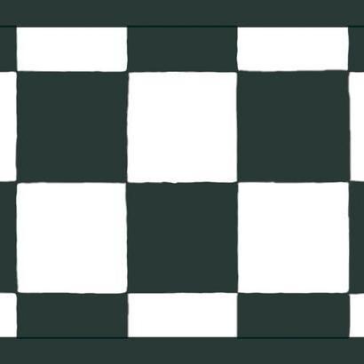 Black And White Checkered Wallpaper Border