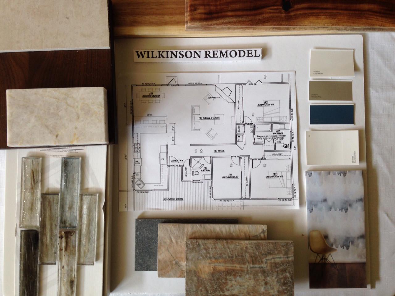 Wilkinson's Color Inspiration Board