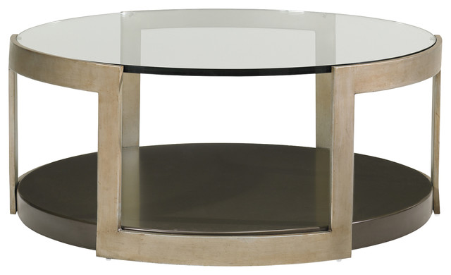 Gold Metal Round Coffee Table.Sonja Industrial Loft Gold Metal Round Glass Coffee Table