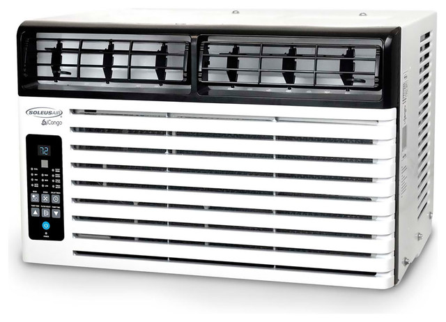 Energy Star Window-Mounted Air Conditioner, Lcd Remote Control, 10,200 Btu