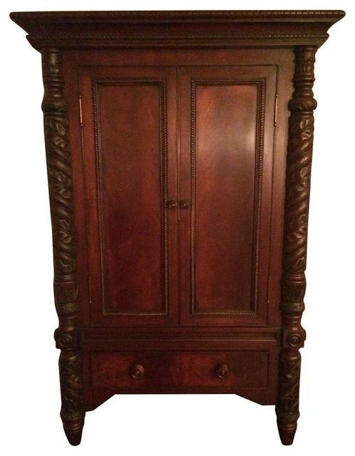 Ralph Lauren Safari Armoire Traditional Dressers