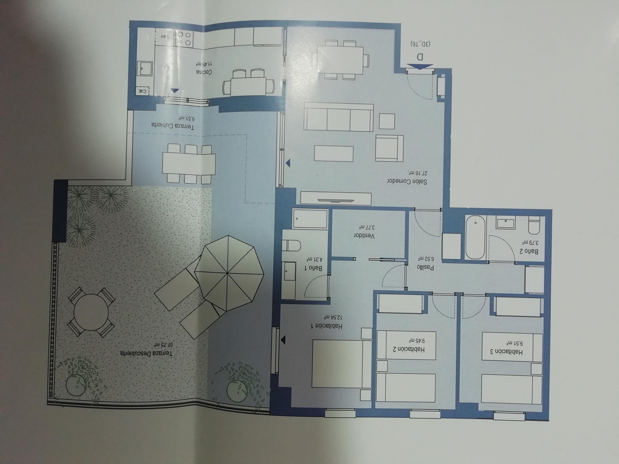 NUEVO proyecto de interiorismo ,semi ático -VALENCIA
