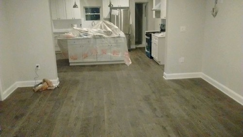 start of kitchen remodel