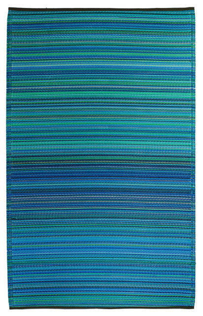Fab Habitat Indoor Outdoor Plastic Rug - Contemporary - Outdoor ...