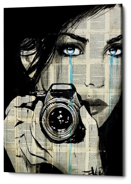 "Epic Graffiti ""Caught"" by Loui Jover, Giclee Canvas Wall Art, 18""x26"""