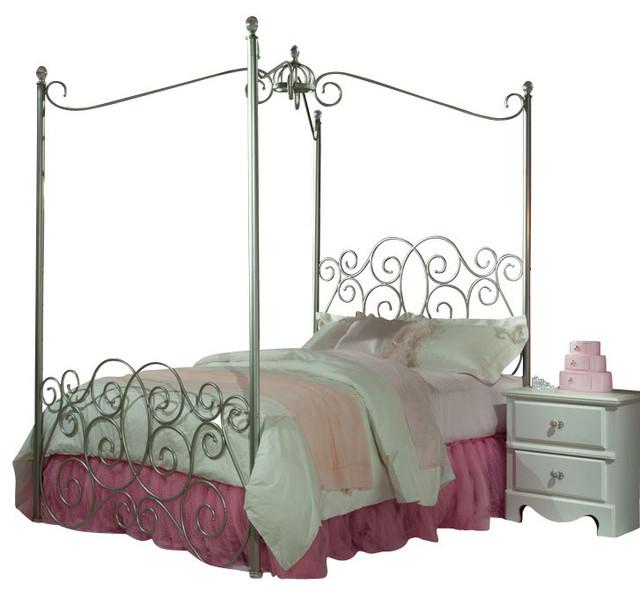 Standard Furniture Princess 5-Piece Kids\' Canopy Bedroom Set ...