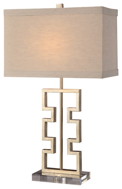 Azteca Table Lamp Contemporary Table Lamps by GwG Outlet