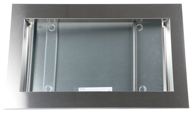 "Trim Kit For Sharp Smc1842cs And Smc1843cm Microwave Ovens, Stainless Steel, 30""."