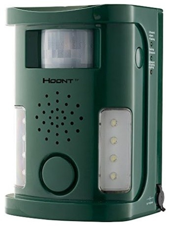Hoont Powerful Electronic Animal & Pest Repeller, Motion Activated [New Version]