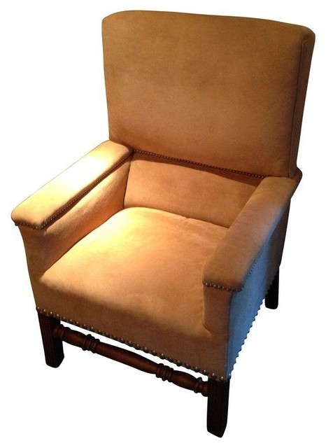 Shop Houzz | Chairish Ralph Lauren Lodge High Back Chair - Living