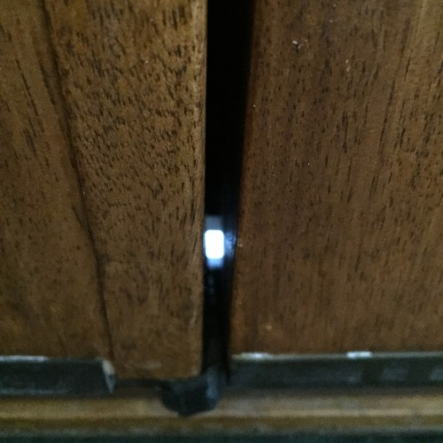 How Do You 39 Fill 39 The Hole At The Bottom Of French Doors