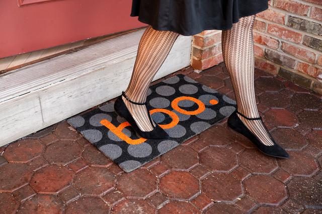 Boo. Non Slip Coir Doormat.