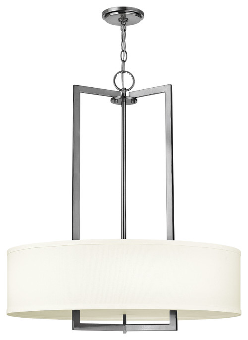 How long is the chain from ceiling to light fixture for Long ceiling light fixture