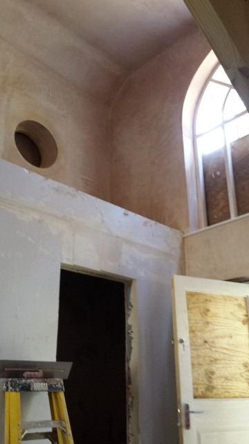 Take a look through the arched window