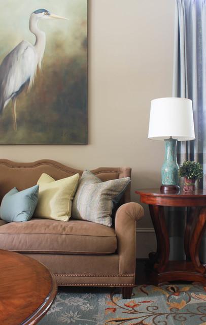 Chastain Park Atlanta Ga Traditional Living Room By Alison Baker Interior Design