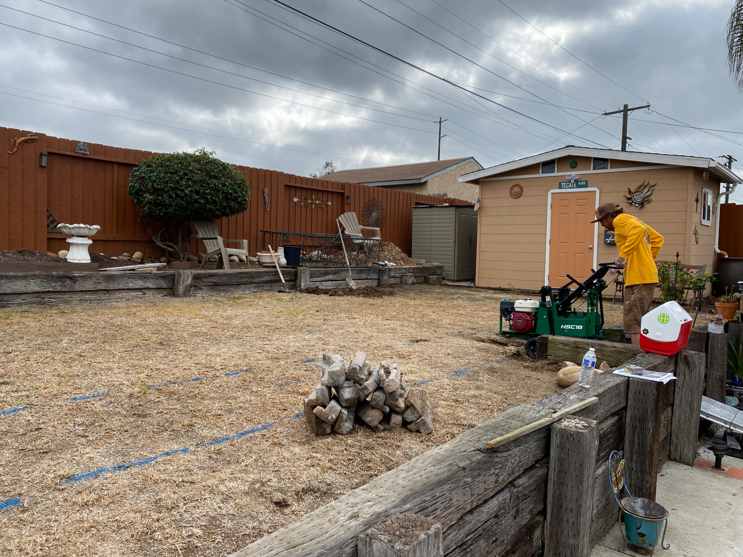 Backyard Update - Clairemont