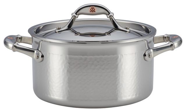 Ruffoni Symphonia Prima 3.50 Quart Covered Soup Pot.