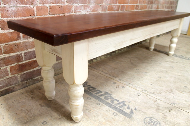 Attractive Custom Dining Bench