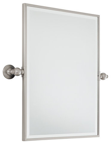 Minka lavery minka lavery 1440 267 standard rectangle - Standard bathroom mirror dimensions ...
