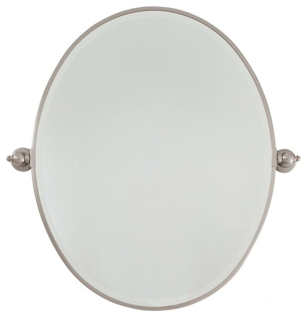 Minka Lavery Pivot Mirrors Oval Mirror Traditional Bathroom