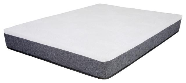 14 Gel Memory Foam Mattress Twin Contemporary Kids Beds By