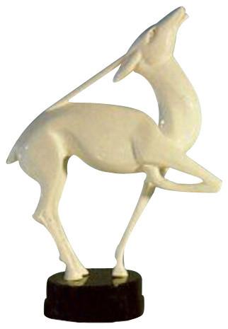 quite nice running shoes fashion Male Gazelle 24 Garden Animal Statue