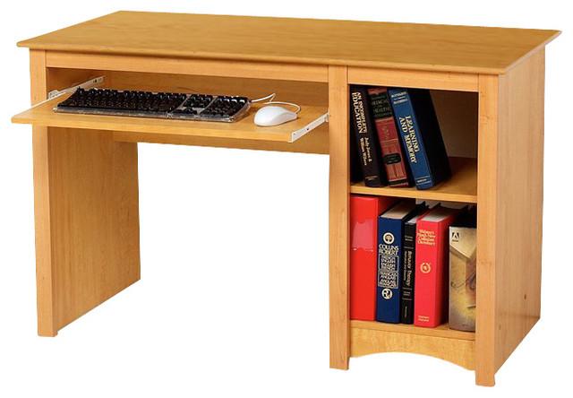 Prepac Sonoma Small Wood Laminate Computer Desk - Transitional - Desks And Hutches - by Homesquare