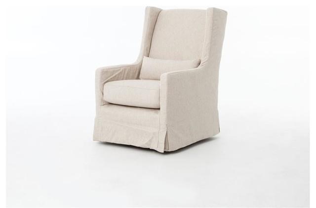 Kensington Swivel Wing Chair
