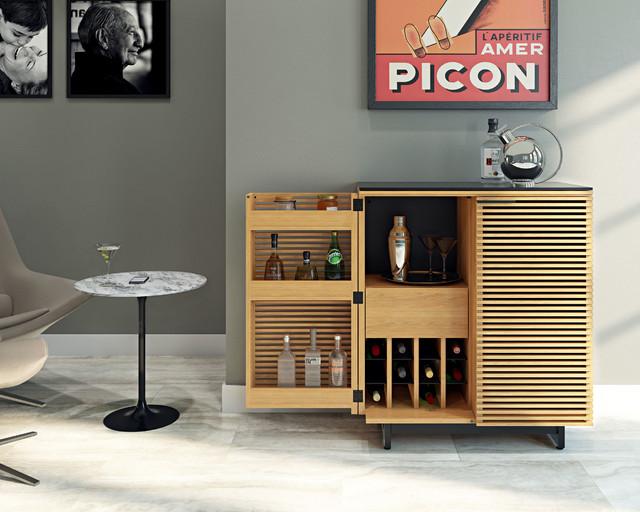 Bdi Furniture Contemporary Home Bar Dc Metro By Bdi Furniture