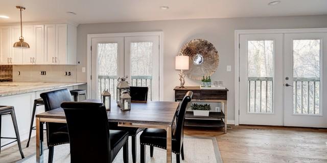 Home design - transitional home design idea in DC Metro