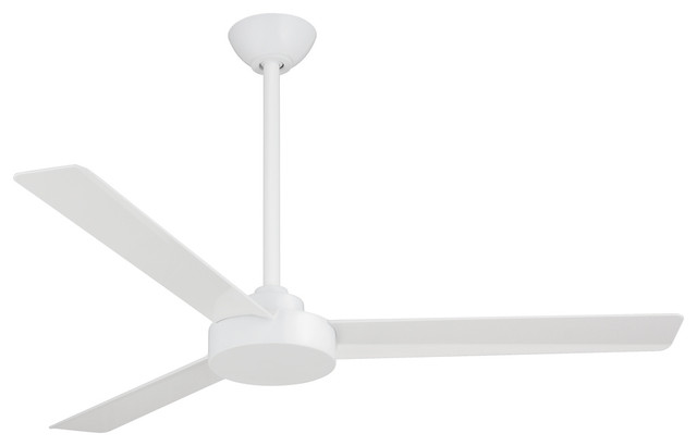 "Minka-Aire F524-Whf Indoor Ceiling Fan Roto 52"" Flat White."