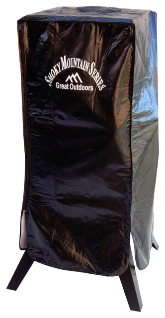 Smoker Cover For 3425gw, 3425gla, And 3425cla Fits Models With Large Side Handle.