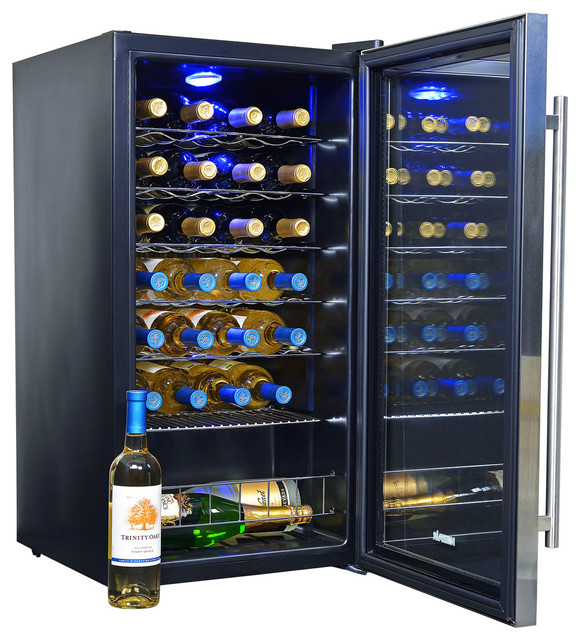 27-Bottle Compressor Wine Cooler.