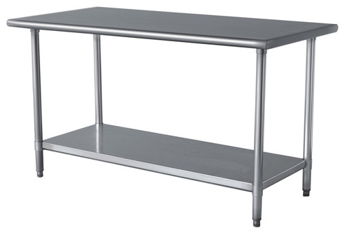 sportsman work table stainless steel 24x48 more info - Kitchen Steel Table
